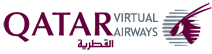 Qatar Airways Virtual Logo